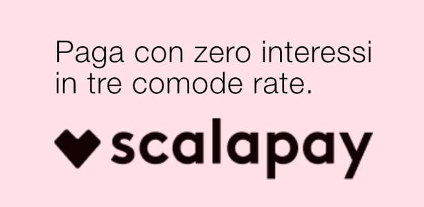 Paga a rate con Scalapay